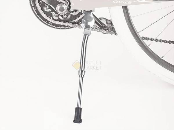 Подножка велосипедная алюминий AUTHOR AKS-06S 22-29